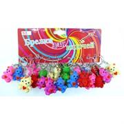 Резиновые брелки Мишка 120 шт/уп