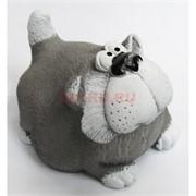 Толстый кот 6 см из мраморной крошки