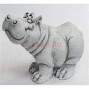 Фигрука носорог 7 см из мраморной крошки