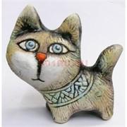 Фигурка кота (KK-31C) из шамота