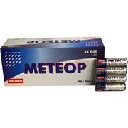 Батарейки солевые Метеор пальчиковые АА 60 шт/уп