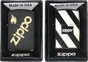 Зажигалка бензиновая Zippo, рисунки в ассортименте
