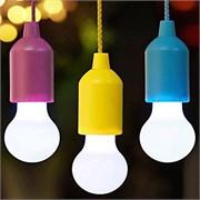 Лампа на шнурке цвета в ассортименте