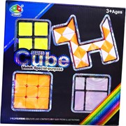 Набор игрушек головоломок 4-в-1 Series Cube