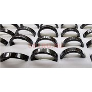 Кольцо из гематита (J-171) разные размеры 100 шт/упаковка