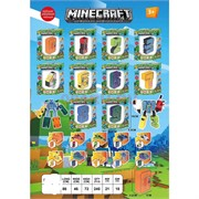 Игрушка трансформер Minecraft цифры 9 шт/уп