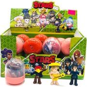 Набор фигурок Brawl Stars 60 в пластиковом яйце 16 шт/уп