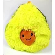 Игрушка подушка мягкая Авокадо большая
