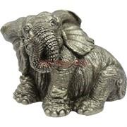 Слон сидящий из полистоуна