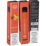 Puff Plus 800 затяжек «Strawberry Banana» одноразовый электронный испаритель