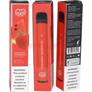 Puff Plus 800 затяжек «Strawberry Watermelon» одноразовый электронный испаритель