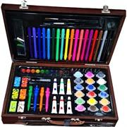 Набор художника для рисования и творчества в кейсе