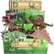 Игрушка Динозавры твердые 16 см 12 шт/уп