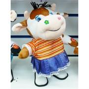 Музыкальная мягкая игрушка (AZ-1736) Корова Символ 2021 года