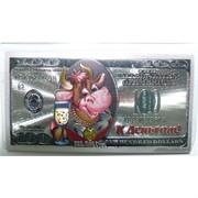 Магнит 100 долларов из ПВХ К деньгам Бык Символ 2021 года