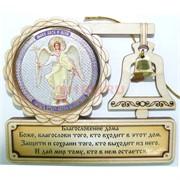 Магнит деревянный Образ Ангела Хранителя 10 шт/уп