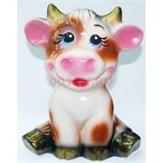 Копилка Корова Символ 2021 года из керамики