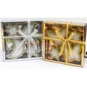 Свечки (R2-1025) чайные в подарочных упаковках 4 шт/уп