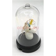 Единорог свеча (R2-430) в стеклянной колбе с гирляндой