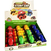 Машинка динозавр Stunt Car 12 шт/уп
