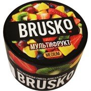 Кальянная смесь бестабачная Brusko 50 гр «Мультифрукт»