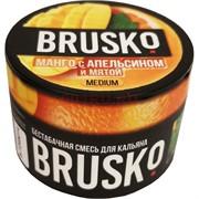 Кальянная смесь бестабачная Brusko 50 гр «Манго с апельсином и мятой»