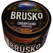 Кальянная смесь бестабачная Brusko 50 гр «Сибирский лимонад»