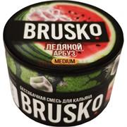 Кальянная смесь бестабачная Brusko 50 гр «Ледяной арбуз»