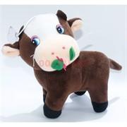 Мягкая игрушка Бык с розой (KL-3198) Символ 2021 года 12 шт/уп