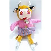 Мягкая игрушка Корова в платье (KL-3197) Символ 2021 года 6 шт/уп