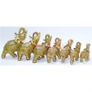 Набор слонов 7 шт из полистоуна
