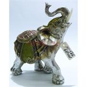 Фигурка слон (KL-566) из полистоуна 12 см