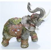 Фигурка слона (KL-579) из полистоуна 23 см