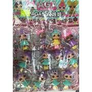 Куклы A.G.A (AZ-911-1) на листе 12 шт/уп