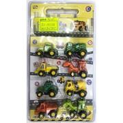 Машинки строительные (AZ-2838A) игрушечные 8 шт/уп