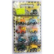 Машинки строительные (AZ-6388A) игрушечные 8 шт/уп