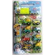 Машинки строительные (AZ-638-OC) игрушечные 8 шт/уп
