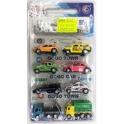 Машины (AZ-6386A) игрушечные 8 шт/уп