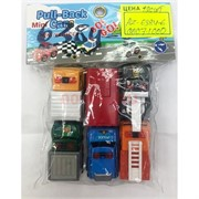 Игрушечные машинки (AZ-6384-6) Pull-Back Cars 6 шт/уп