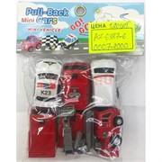Игрушечные машинки (AZ-6387-6) Pull-Back Cars 6 шт/уп