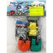 Игрушечные машинки (AZ-6382-4) Pull-Back Cars 6 шт/уп