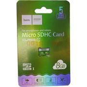 Карта памяти microSDHC 8 Gb Hoco класс 10