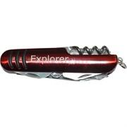 Нож 10 предметов Explorer цвета в ассортименте