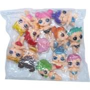 Куклы игрушечные маленькие 12 шт/уп