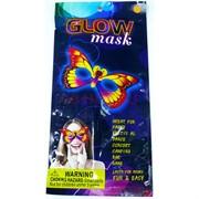 Маска бабочка (PL-1369) Glow Mask 24 шт/уп
