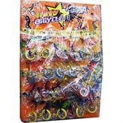 Игрушка для пальцев «велосипед» 24 шт/лист
