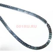 Нитка бусин гематит 102 шт под серебро 10 мм длина 40 см