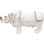 Статуэтка носорог фарфоровый большой