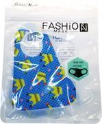 Маска гигиеническая Fashion Mask цветная с рисунками 20 шт/уп