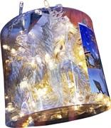 """Гирлянда """"Занавес"""" желтая 320 ламп 3х2 метра"""